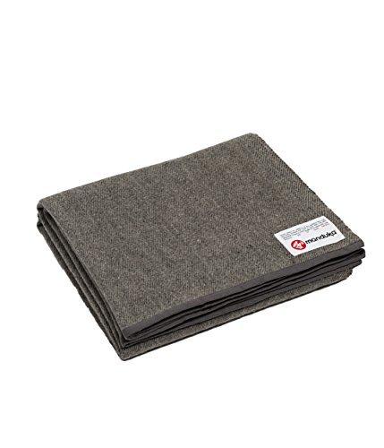 Manduka-Recycled Wool Blanket - Sediment