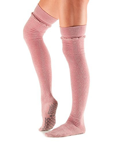 Tavi Noir-Over the Knee Thigh High Grip Socks