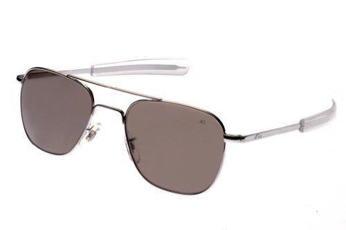dd857141fd3b4 AO Eyewear-AO Eyewear Original Pilot Sunglasses 55mm Gray Polarized Optical  Glass Lenses