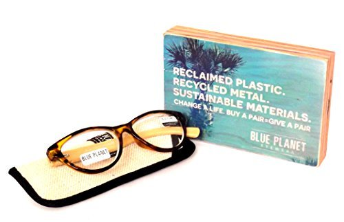 9223b121f5 Blue Planet-BLUE PLANET Reading Glasses Eco Friendly Women Sustainable  Bamboo Ladies Designer Eyeglasses Honey