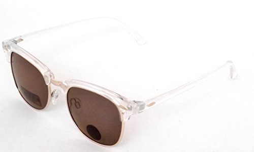 Blue Planet-Recycled Plastic Clear Sunglasses