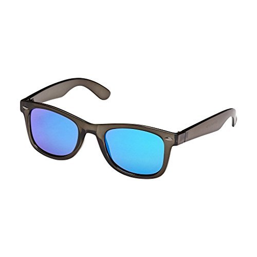 Blue Planet-MILES Crystal Smoke Green Mirror Polarized Lens