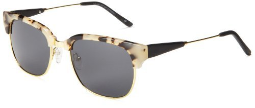 Proof-Unisex Ontario Pear Skate Wood Sunglasses - Snow Tortoise