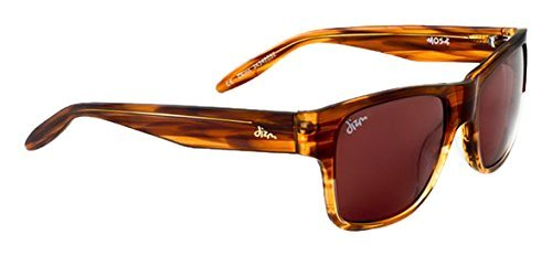 Dizm Eco Eyewear-Dempsey + Sunglass - Brown Seaweed