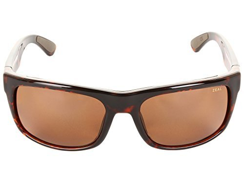 Zeal Optics-Unisex Essential Polarized Demi Tortoise W / Copper Polarized Lens Sunglasses