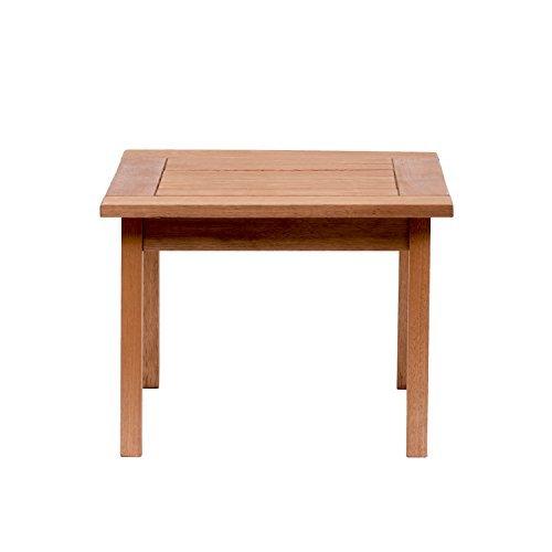 Amazonia-Murano Eucalyptus Square Side Table