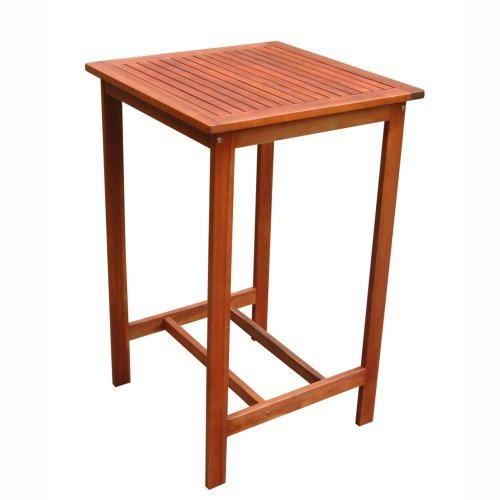 Vifah-Dartmoor Outdoor Wood Bar Table