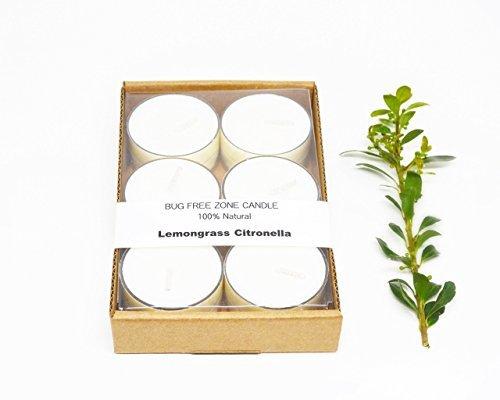 Pure Palette Scents-Lemongrass Citronella Soy Candle Tea Lights