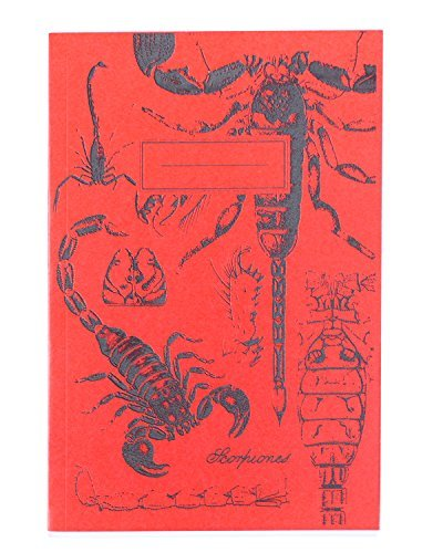 Cognitive Surplus-Glow-in-the-Dark Scorpion Screen Printed Softcover Journal