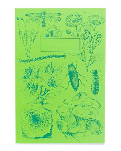 Cognitive Surplus-Bioluminescent Flora & Fauna Screen Printed Softcover Journal
