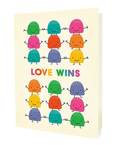 Night Owl Paper Goods- Love Wins Greeting Card