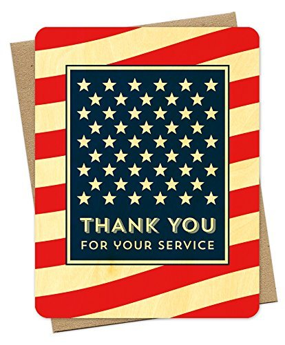 Night Owl Paper Goods-American Thank You Card