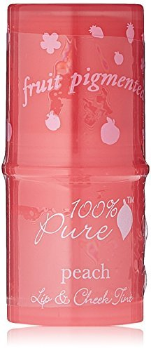 100% Pure-Lip and Cheek Tints - Peach Glow