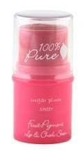 100% Pure-Sugar Plum Sheer Lip + Cheek Tint