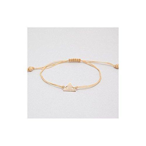 Adorn512-Triangle Cord Bracelet