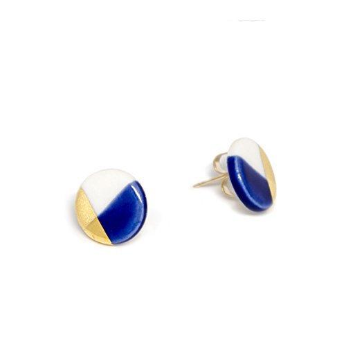 ASH Jewelry Studio-Petite Circle Stud Earrings