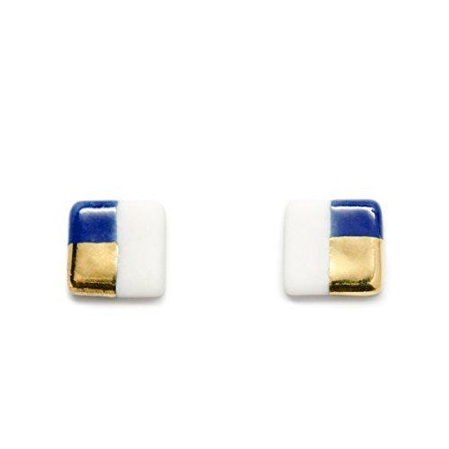 ASH Jewelry Studio-Petite Square Stud Earrings