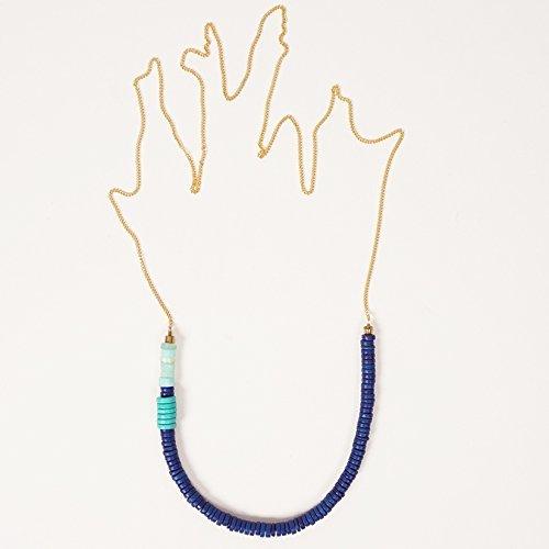 Son of a Sailor-Vigdis Necklace - Indigo