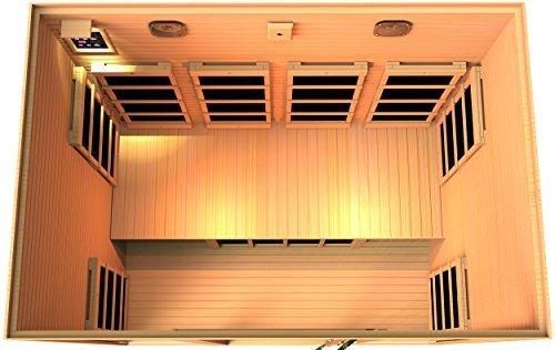 JNH Lifestyles-Joyous 4 Person Far Infrared Sauna
