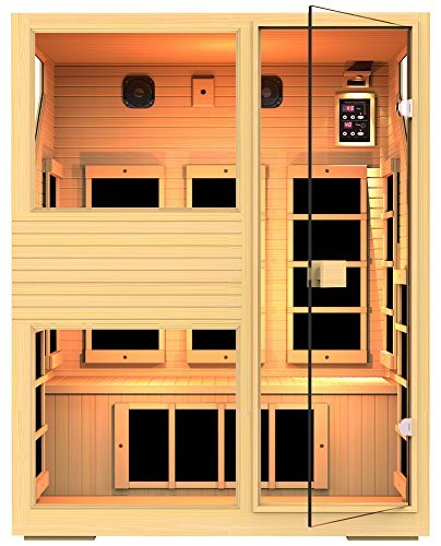 JNH Lifestyles-3 Person Infrared Sauna Limited
