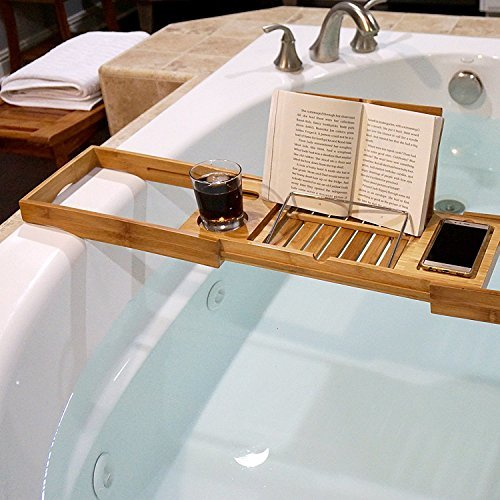WELLAND-Bamboo Expandable Bath Ledge