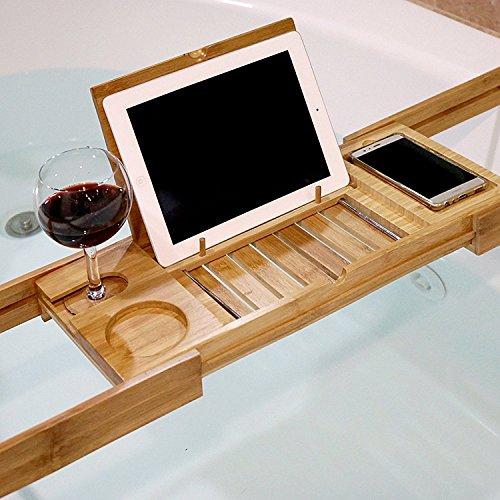 WELLAND-Bamboo Expandable Bath Ledge