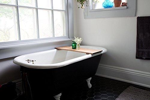 WhiskyGinger-Red Oak Wood Bathtub Tray