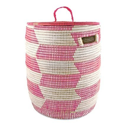Connected Fair Trade Products-African Woven Storage Hamper