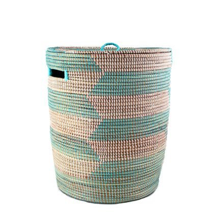 Connected Fair Trade Products-Flat Lid Storage Hamper