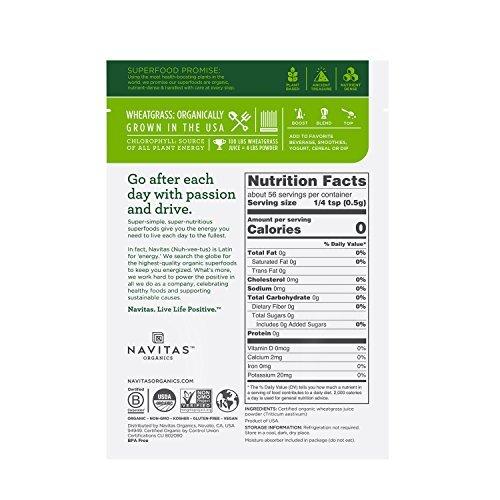 Navitas Organics-Organic Wheatgrass Powder