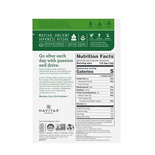 Navitas Organics-Organic Matcha Powder