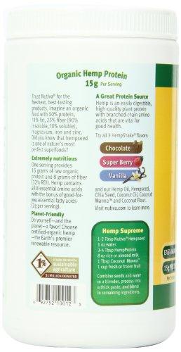 Nutiva-Organic Hemp Protein Powder