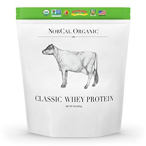 NorCal Organic-Organic Whey Protein - Unflavored