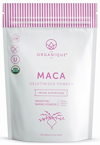 The Organique Co.-Organic + Raw Gelatinized Maca Powder