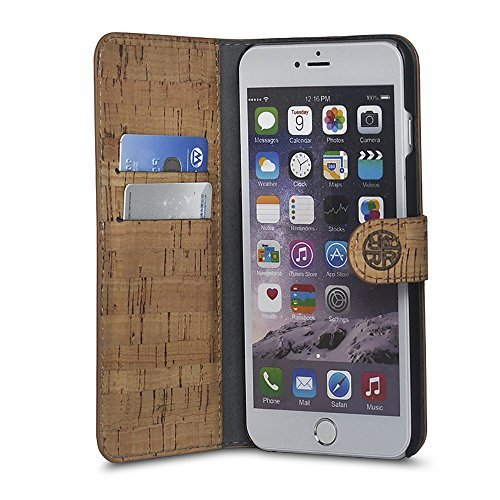 Reveal-Cork Leather iPhone Case
