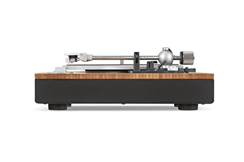 House of Marley-Stir It Up Natural Bamboo Turntable with Built-in Pre-Amp - Signature Black