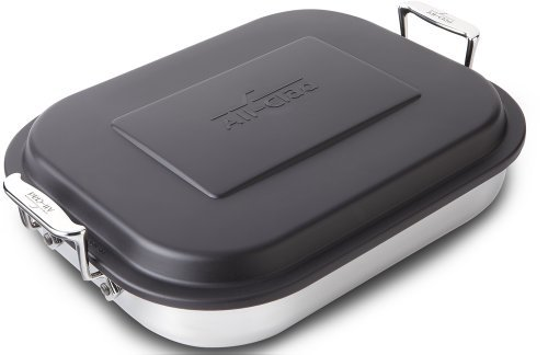 All-Clad-Stainless Steel Lasagna Pan with Lid Specialty Cookware