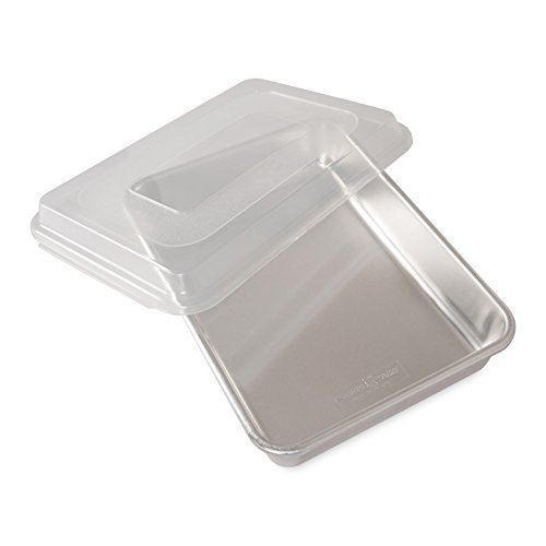 Nordic Ware-Natural Aluminum Commercial Cake Pan with Lid