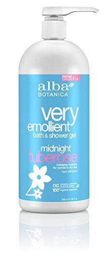 Alba Botanica-Very Emollient Midnight Tuberose Bath & Shower Gel