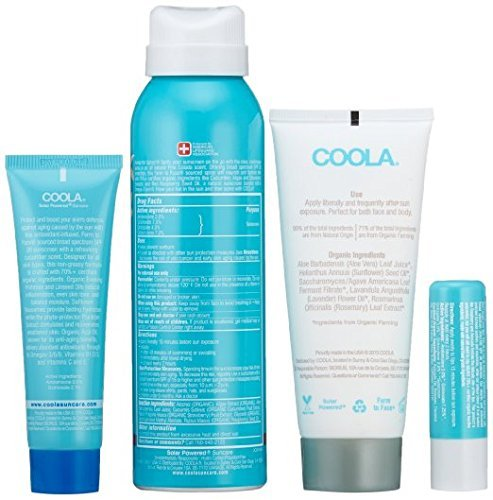 Coola Suncare-4 Piece Organic Suncare Travel Set