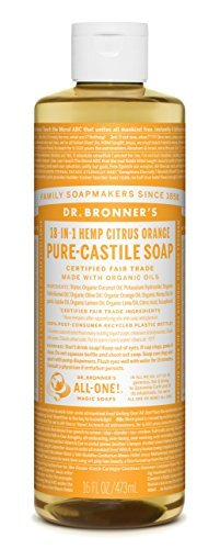 Dr. Bronner's-Citrus Orange Organic Castile Liquid Soap