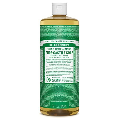 Dr. Bronner's-Almond Pure-Castile Liquid Soap
