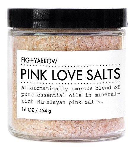 FIG+YARROW-Pink Love Bath Salts