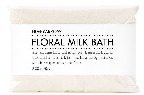 FIG+YARROW-Organic Floral Milk Bath