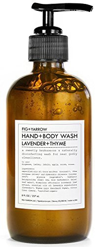 FIG+YARROW-Lavender and Thyme Organic Hand + Body Wash