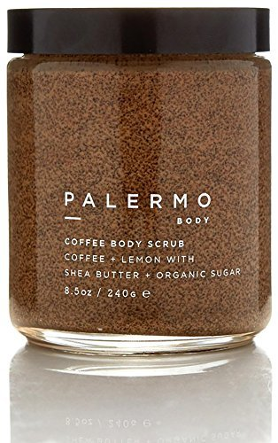 Palermo Body-Organic Coffee + Lemon Body Scrub