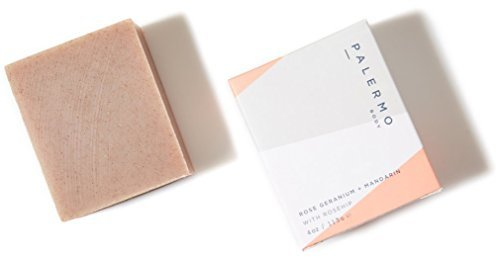 Palermo Body-Rose Geranium + Mandarin With Rosehip Bar Soap