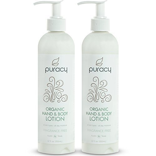 Puracy-Unscented Organic Hand & Body Lotion