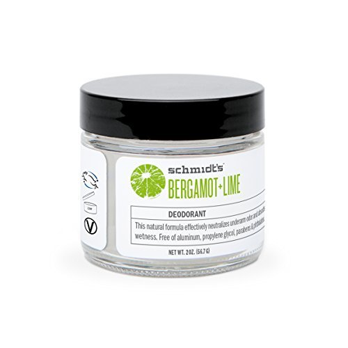 Schmidt's Deodorant-Bergamot and Lime Deodorant Jar