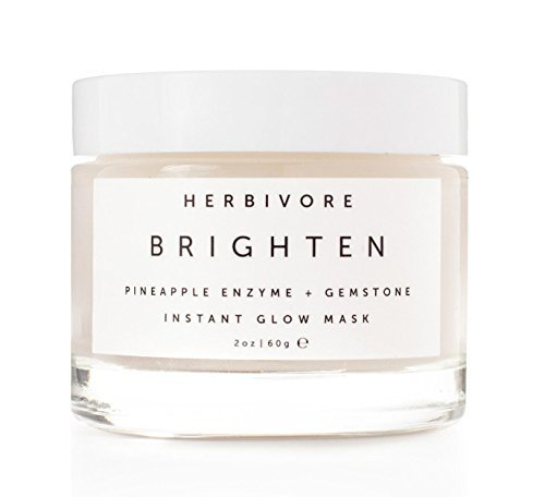 Herbivore Botanicals-Organic Brighten Pineapple + Gemstone Mask